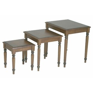 Jeannette 3 Piece Nesting Table Set by Dar by Home Co