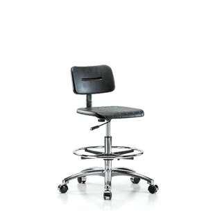 Industrial Mid-Back Drafting Chair by Perch Chairs & Stools Discount