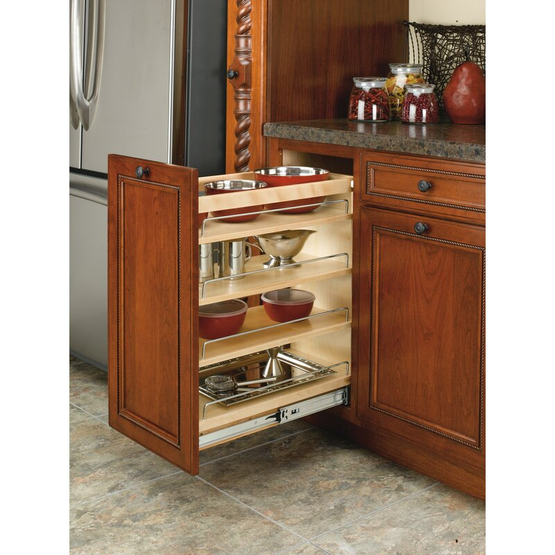 Rev-A-Shelf Base Cabinet Organizer Pull Out Pantry ...
