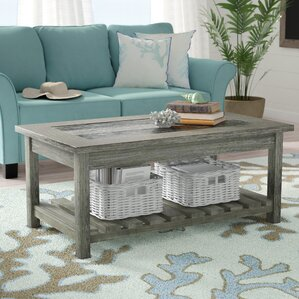 Briarwood Coffee Table with Magazine Rack by..