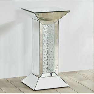 Comparison Latrell Crystal End Table by Rosdorf Park