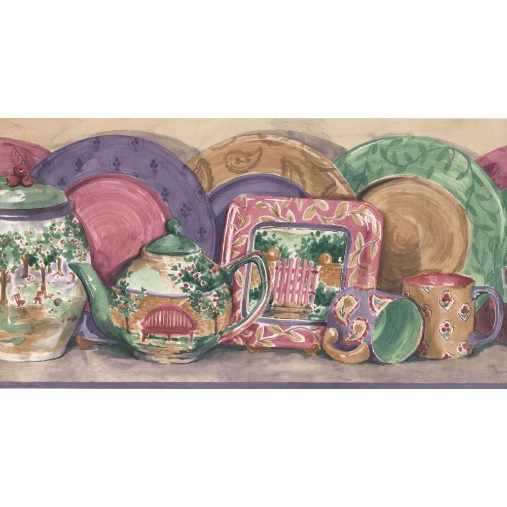 August Grove Matranga Kitchen 15 L X 10 4 W Wallpaper Border Wayfair