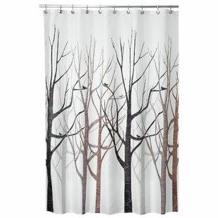 modern shower curtain nice forest shower curtain modern curtains allmodern