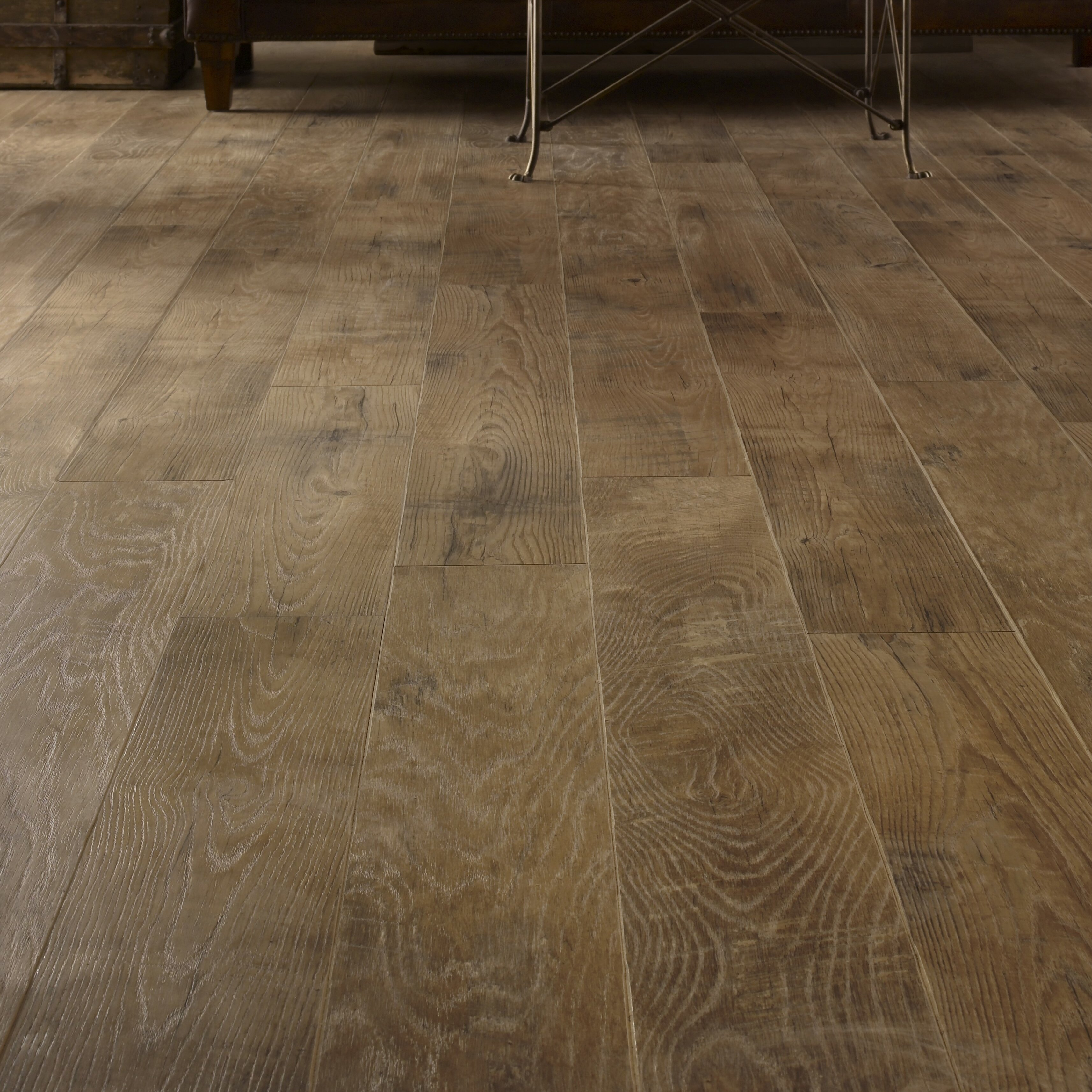 Laminate flooring youll love wayfair restoration 6 x 51 x 12mm oak laminate flooring in ash dailygadgetfo Choice Image