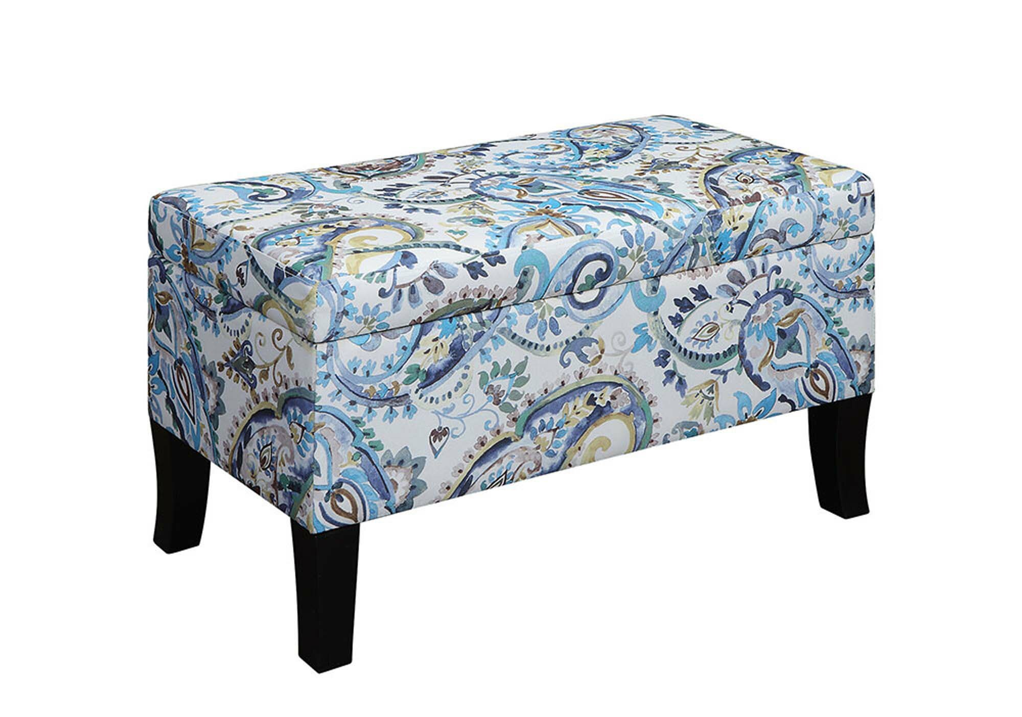 Brilliant Cohee Storage Ottoman Gmtry Best Dining Table And Chair Ideas Images Gmtryco