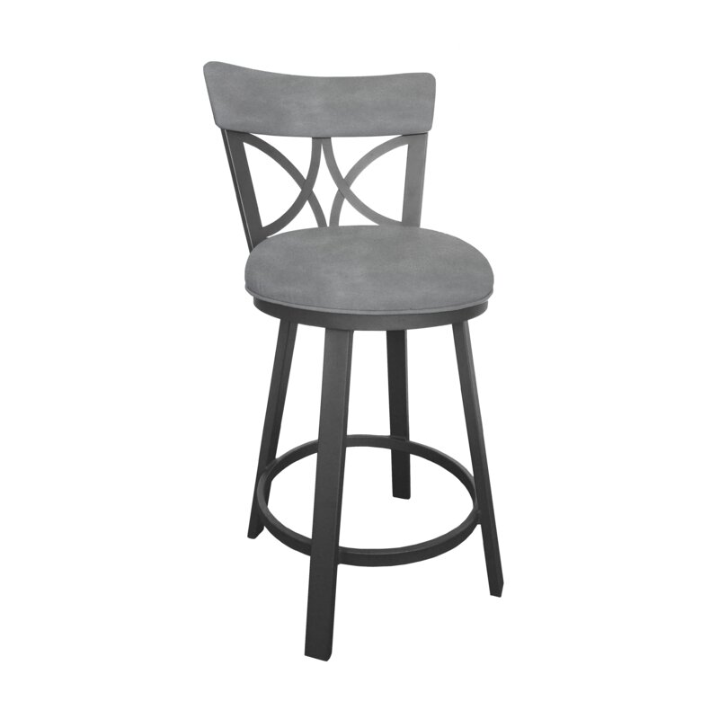 Winston Porter Bicester Swivel Bar Counter Stool Reviews Wayfair