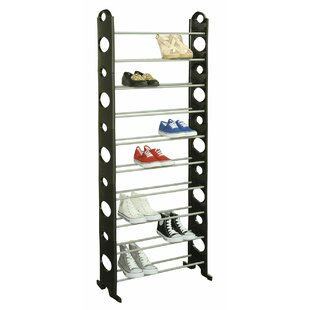 Find for 10-Tier 30 Pair Shoe Rack By Sunbeam