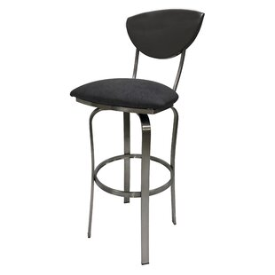 Mccracken 35'' Swivel Bar Stool by Latitude Run