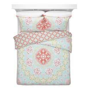 Bungalow Rose Caulder Cotton Reversible Comforter Set