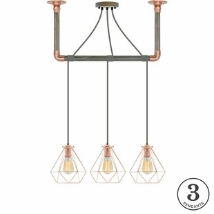 Brayden Studio Arian 3-Light Kitchen Island Pendant