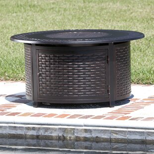 Fire Sense Bellante Aluminum Propane Fire Pit Table