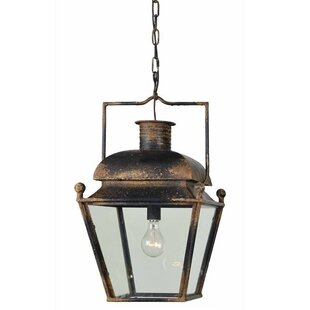 Williston Forge Runion 1-Light Lantern Pendant