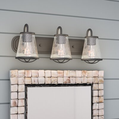 Regan 3-Light Vanity Light Beachcrest Home