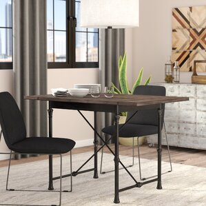 Cristal Drop-Leaf Dining Table by Trent Austin Design