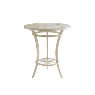 Misty Garden Aluminum Bistro Table