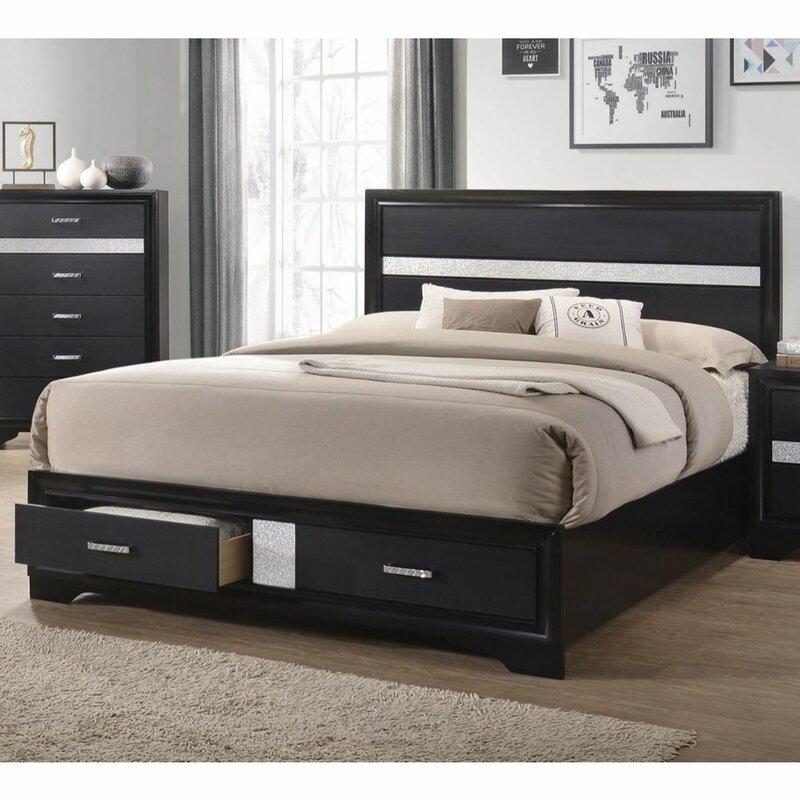 Everly Quinn Cisco Platform Configurable Bedroom Set Wayfair
