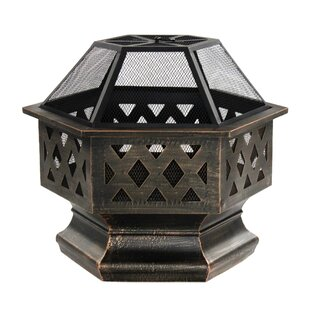 ALEKO Steel Wood Burning Fire Pit