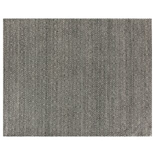 Compare prices Hand-Woven Wool Black Area Rug By Exquisite Rugs