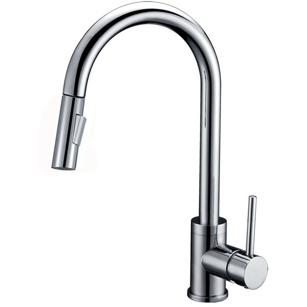 Luxurious Single Handle Pull-down Kitchen Faucet
