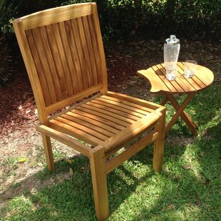 Belize Stacking Teak Patio Dining Chair