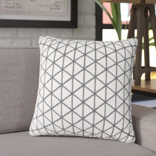Culbert Triangle Wool Throw Pillow