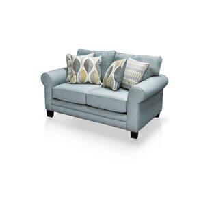 Hokku Designs Azula Upholstered Loveseat