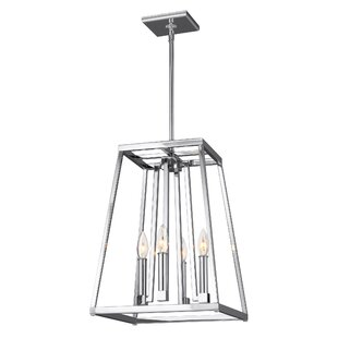 Online Reviews Hanley 4-Light Square/Rectangle Pendant By Darby Home Co