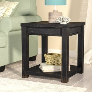 Reviews Calvin End Table ByBeachcrest Home