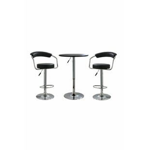 Heinemann 3 Piece Adjustable Pub Table Set Best