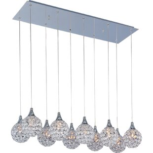 Willa Arlo Interiors Devereaux 10-Light Pendant