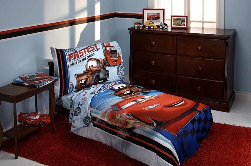Fastest Team 4 Piece Cars Toddler Bedding Set