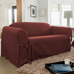 Muskoka Box Cushion Sofa Slipcover by CoverWorks