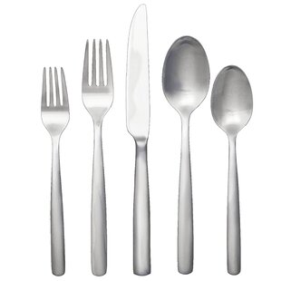 Simple 20 Piece Flatware Set, Service for 4