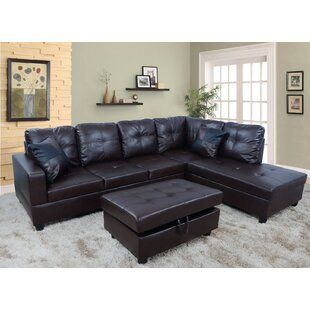 Faunce Sectional with Ottoman by Winston Porter