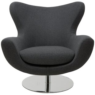 Conner Swivel Lounge Chair by Nuevo
