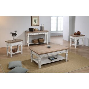 4 Piece Coffee Table Set
