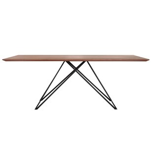 Amina Contemporary Dining Table by Orren Ellis Read Reviews