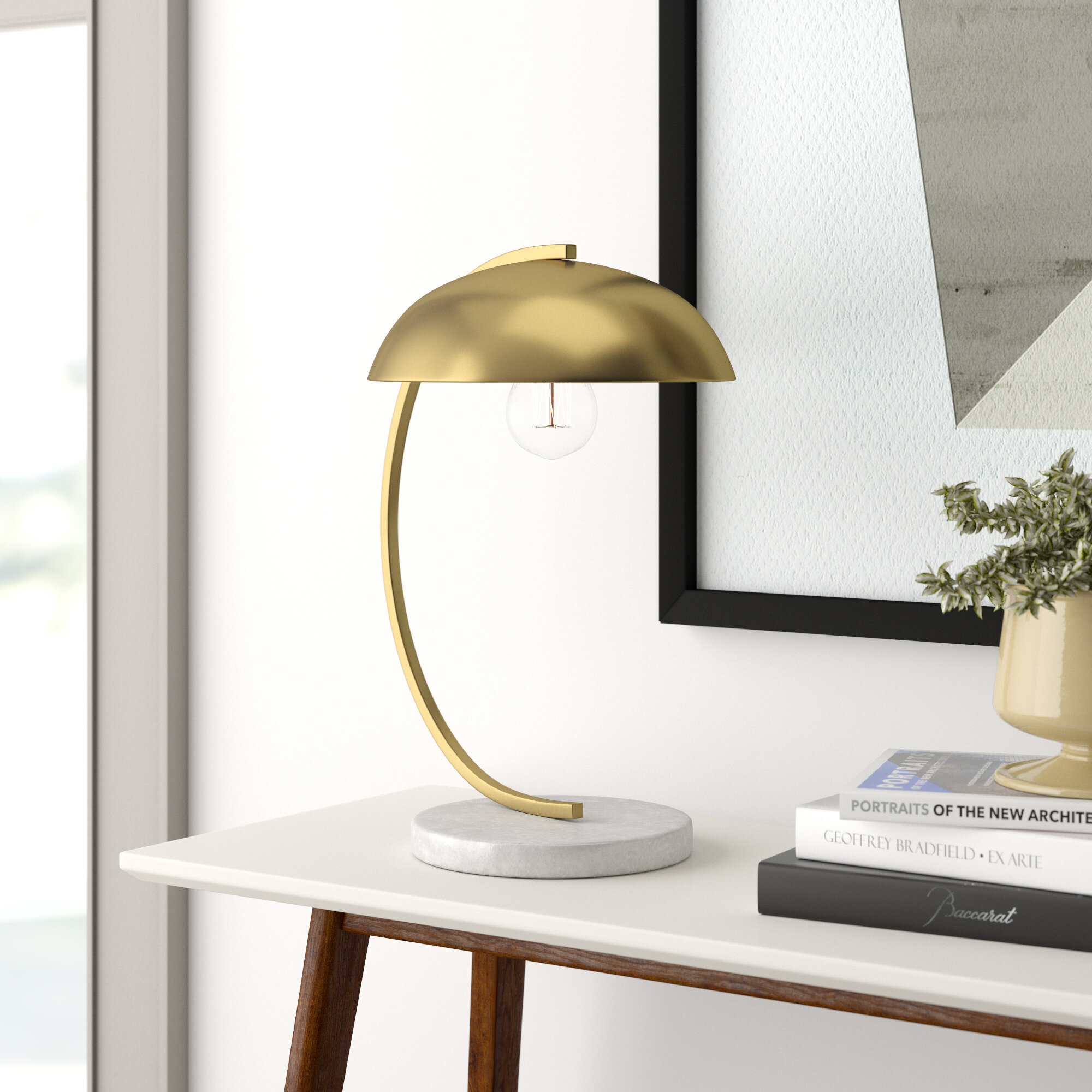 Picture of: Wilkins 19 Arched Table Lamp Allmodern