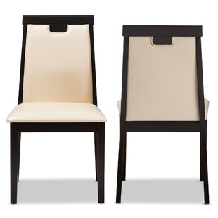 Top Reviews Plotinus Upholstered Dining Chair (Set of 2) by Wrought Studio Reviews (2019) & Buyer's Guide