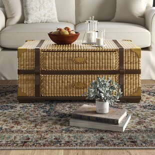 Farmhouse Rustic Rattan Wicker Coffee Tables Birch Lane