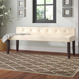 Charlton Home Coderre Upholstered Bench