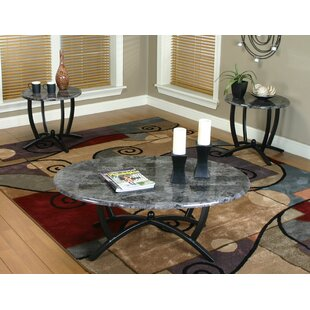 Jacob 3 Piece Coffee Table Set