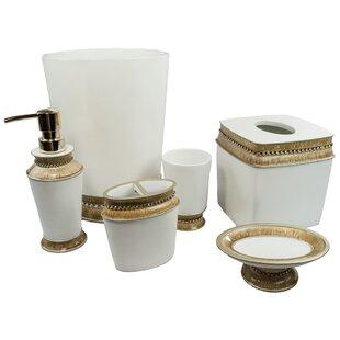 Sherry Kline Victoria Jewel 6-Piece Bathroom Accessory Set