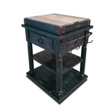 Colyt Kitchen Cart Solid Wood by August Grove®
