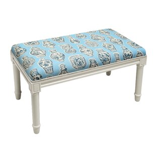 Weston Porcelain Wood Bench