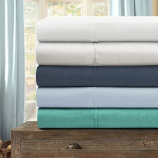 Yadiel Deep Pocket Solid Color Sheet Set by Darby Home Co Comparison