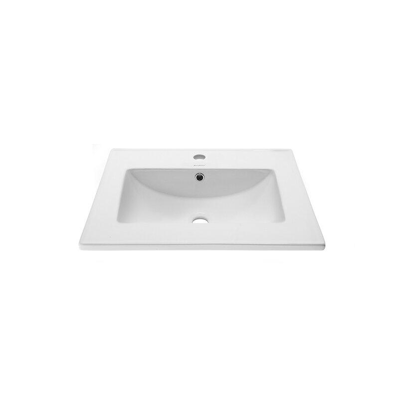 Swiss Madison Ceramic 24 Single Bathroom Vanity Top Reviews Wayfair