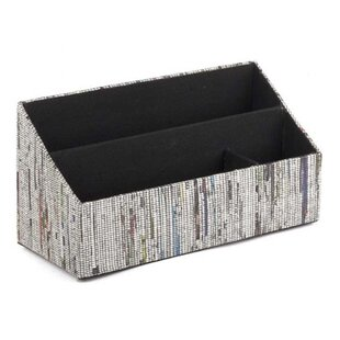 Great Price Newsprint Desk Organizer by Design Ideas
