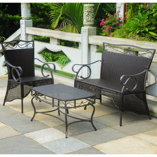 Stapleton 3 Piece Sofa Set by Charlton Home