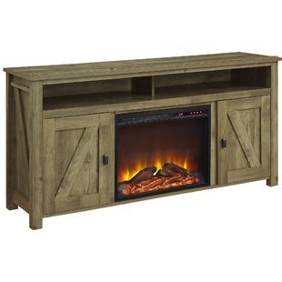 Cleveland 60 TV Stand with Fireplace by Gracie Oaks